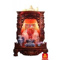 Bàn thờ thần tài gỗ Cẩm Lai kích thước lớn