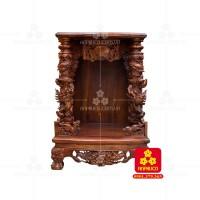 Bàn thờ ông địa gỗ Cẩm Lai (Model: T.1CL.TOD.4868.001)
