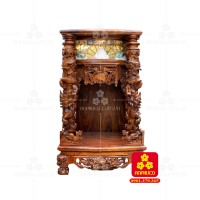 Bàn thờ Thần Tài gỗ Cẩm Lai(Model: T.1CL.TOD.4881.001)