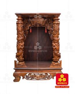 Bàn thờ Thần Tài gỗ Cẩm Lai(Model: T.1CL.TOD.6088.001)
