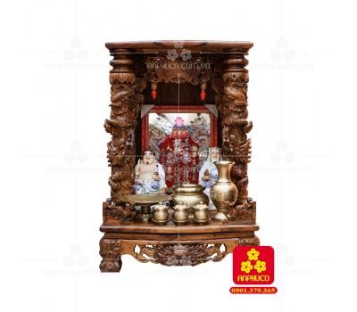 Bàn thờ Thần tài bằng gỗ Cẩm Lai đẹp(Model T.1CL.TOD.6088.004)
