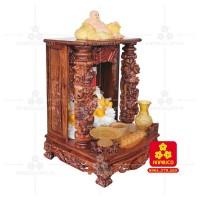 Bàn thờ Thần tài bằng gỗ Cẩm Lai đẹp(Model T.1CL.TOD.6088.006)