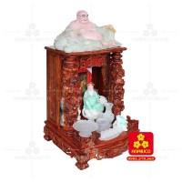 Bàn thờ Thần tài bằng gỗ Cẩm Lai đẹp(Model T.1CL.TOD.6088.007)