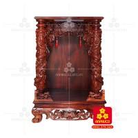 Bàn thờ Thần tài bằng gỗ Cẩm Lai đẹp(Model T.1CL.TOD.6088.010)
