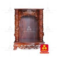Bàn thờ Thần tài bằng gỗ Cẩm Lai đẹp(Model T.1CL.TOD.6898.011)