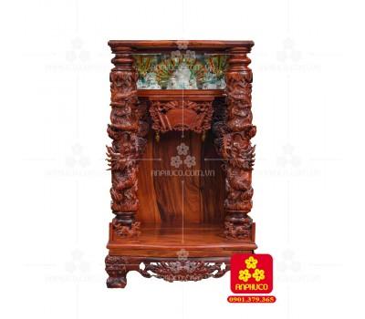 Bàn thờ Thần tài bằng gỗ Cẩm Lai đẹp(Model T.1CL.TOD.6098.002)