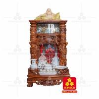 Bàn thờ Thần tài bằng gỗ Cẩm Lai đẹp(Model T.1CL.TOD.6098.003)