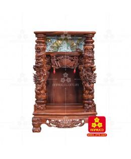Bàn thờ Thần tài bằng gỗ Cẩm Lai đẹp(Model T.1CL.TOD.68