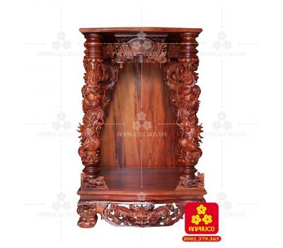 Bàn thờ Thần tài bằng gỗ Cẩm Lai đẹp(Model T.1CL.TOD.68108.002)