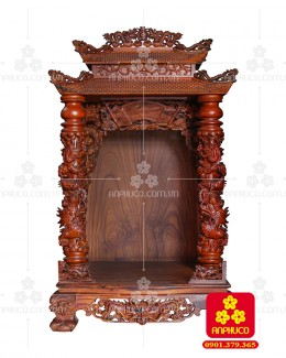 Bàn thờ Thần tài bằng gỗ Cẩm Lai đẹp(Model T.1CL.TOD.81148.001)