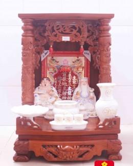 Mẫu bàn thờ ông Địa bằng gỗ