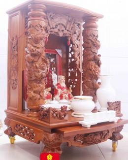 Mẫu bàn thờ Thần Tài phong thủy