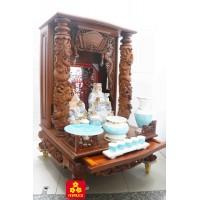 Mẫu tủ thờ Thần Tài phong thủy