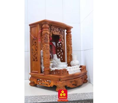 Mẫu bàn thờ Thần Tài gỗ Chàm
