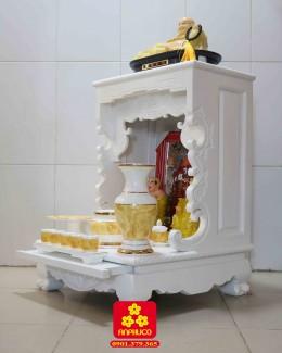 Bàn thờ thần tài bằng gỗ Gõ đỏ