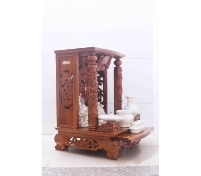 Bàn thờ Thần tài gỗ Gõ Đỏ