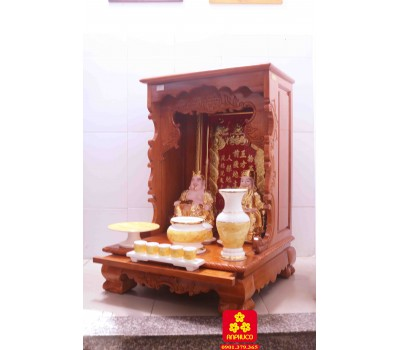Bàn thờ ông Địa bằng gỗ tự nhiên
