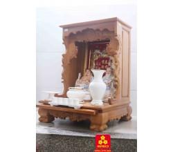 Mẫu bàn thờ Thần Tài mới nhất năm