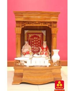 Mẫu bàn thờ Thần tài kiểu mới