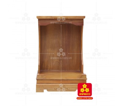 Bàn thờ ông Địa bằng gỗ gỏ đỏ(Model: T.1GD.TOD.4262.001)