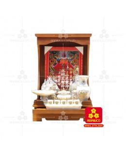 Bàn thờ ông Địa bằng gỗ gỏ đỏ(Model: T.1GD.TOD.4262.00