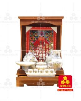 Bàn thờ ông Địa bằng gỗ gỏ đỏ(Model: T.1GD.TOD.4262.004)