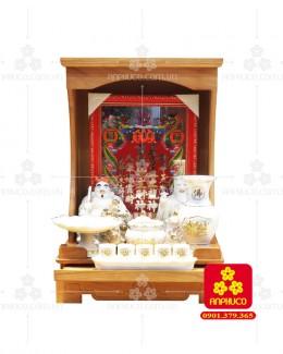Bàn thờ ông Địa bằng gỗ gỏ đỏ(Model: T.1GD.TOD.4262.005)