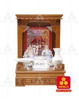 Bàn thờ ông Địa bằng gỗ gỏ đỏ(Model: T.1GD.TOD.4868.001)