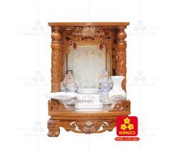 Bàn thờ ông Địa bằng gỗ gỏ đỏ(Model: T.1GD.TOD.4868.005)