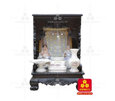 Bàn thờ ông Địa bằng gỗ gỏ đỏ(Model: T.1GD.TOD.4868.006)