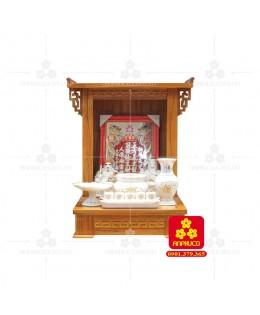 Bàn thờ ông Địa bằng gỗ gỏ đỏ(Model: T-1GD.TOD.4868.00