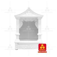 Bàn thờ ông Địa bằng gỗ gỏ đỏ(Model: T.1GD.TOD.5688.002)
