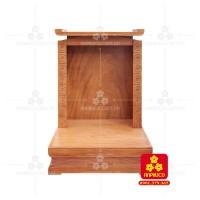 Bàn thờ ông Địa bằng gỗ gỏ đỏ(Model: T.1GD.TOD.6080.001)