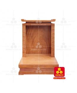 Bàn thờ ông Địa bằng gỗ gỏ đỏ(Model: T.1GD.TOD.6080.00