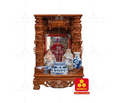Bàn thờ ông Địa bằng gỗ gỏ đỏ(Model: T-1GD.TOD.6088.002)