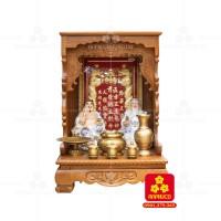 Bàn thờ ông Địa bằng gỗ gỏ đỏ(Model: T.1GD.TOD.6088.004)