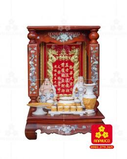 Bàn thờ Thàn Tài gỗ Hương cao cấp (Model: B.1H.TOD.6088.001)