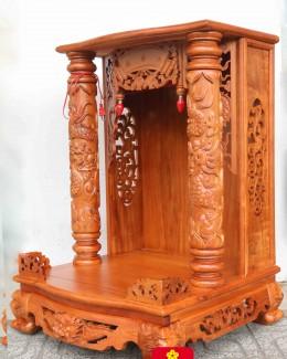 Bàn thờ ông Địa bằng gỗ Lim