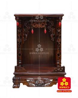 Bàn thờ ông Địa gỗ Muồng(Model: T.1M.TOD.4868.001)