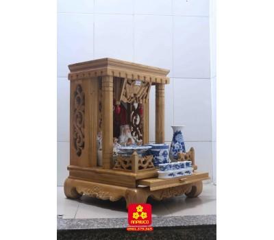 Bàn thờ Thần Tài gỗ Sồi