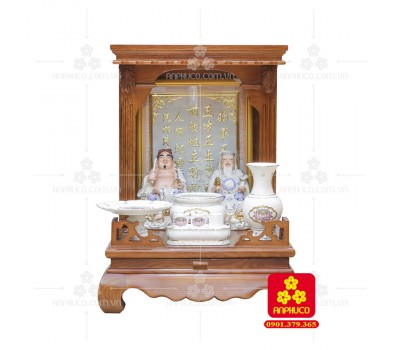 Bàn thờ  Ông Địa gỗ sồi(Model: T-1S.TOD.4868.015)