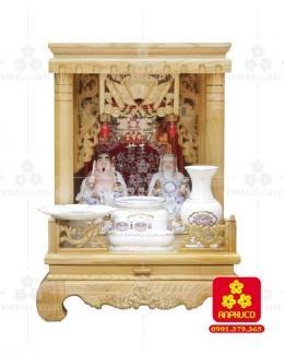 Bàn thờ  Ông Địa gỗ sồi(Model: T-1S.TOD.4868.016)