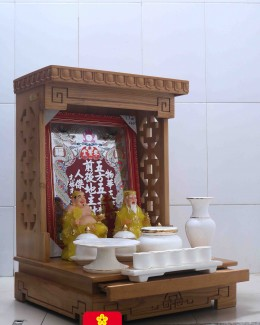 Trang thờ Thần Tài kiểu mới