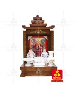 Bàn thờ  Ông Địa gỗ sồi(Model: T-1S.TOD.4868.007)