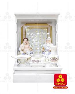 Bàn thờ  Ông Địa gỗ sồi(Model: T-1S.TOD.4868.010)