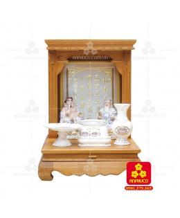 Bàn thờ  Ông Địa gỗ sồi(Model: T-1S.TOD.4868.011)