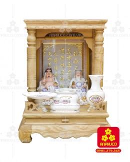 Bàn thờ  Ông Địa gỗ sồi(Model: T-1S.TOD.4868.012)