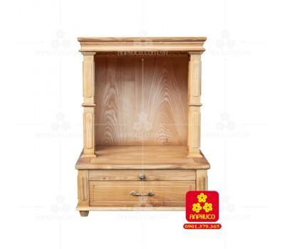 Bàn thờ  Ông Địa gỗ sồi(Model: T.1S.TOD.6078.001)