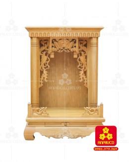 Bàn thờ  Ông Địa gỗ sồi(Model: T.1S.TOD.6081.001)