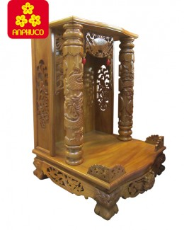 Tủ thờ thần tài gỗ Căm xe